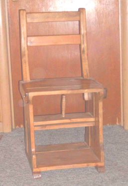 Library Chair Closed